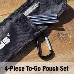 4 Piece To Go Pouch Set