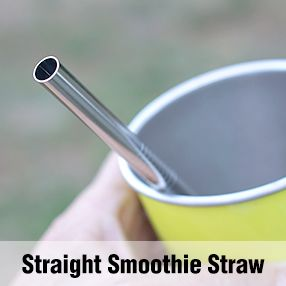 Straight Smoothie Straw