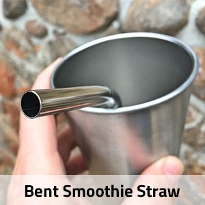 Bent Smoothie Straw