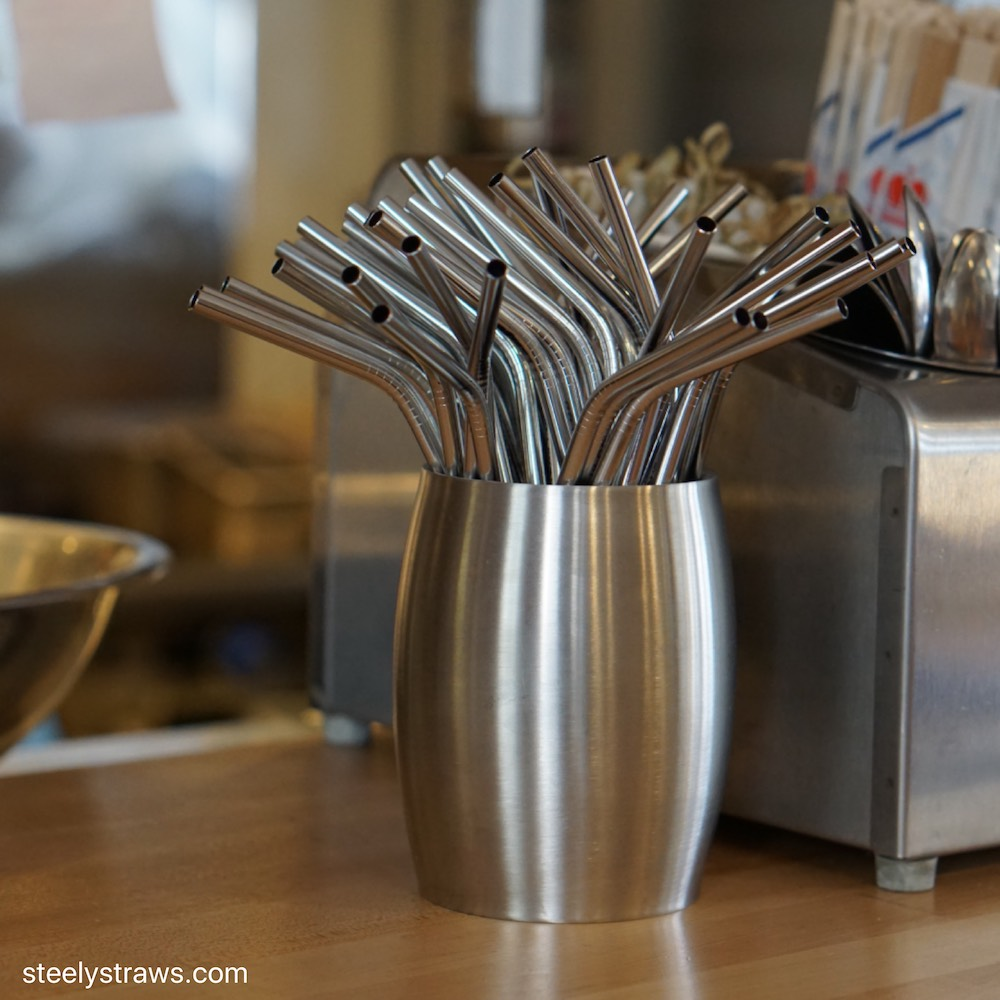 Reusable bent stainless steel straws: Buy Wholesale
